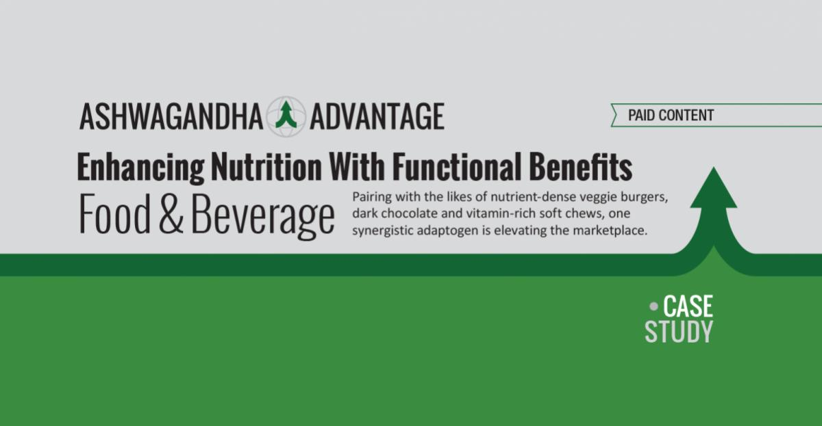 Enhancing Nutrition With Functional Benefits - Report